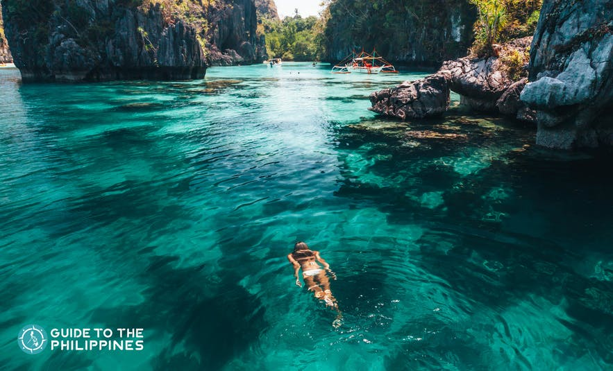 January to April are the best months to visit El Nido, Palawan and enjoy the summer season
