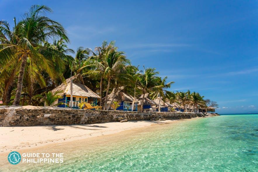 Beachfront resort in El Nido, Palawan