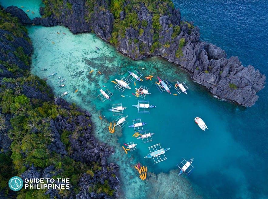Big Lagoon of Palawan's El Nido Tour A