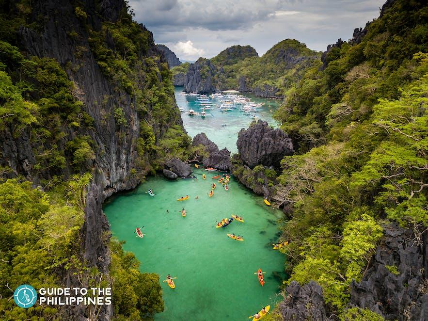 Small Lagoon of Palawan's El Nido Tour D