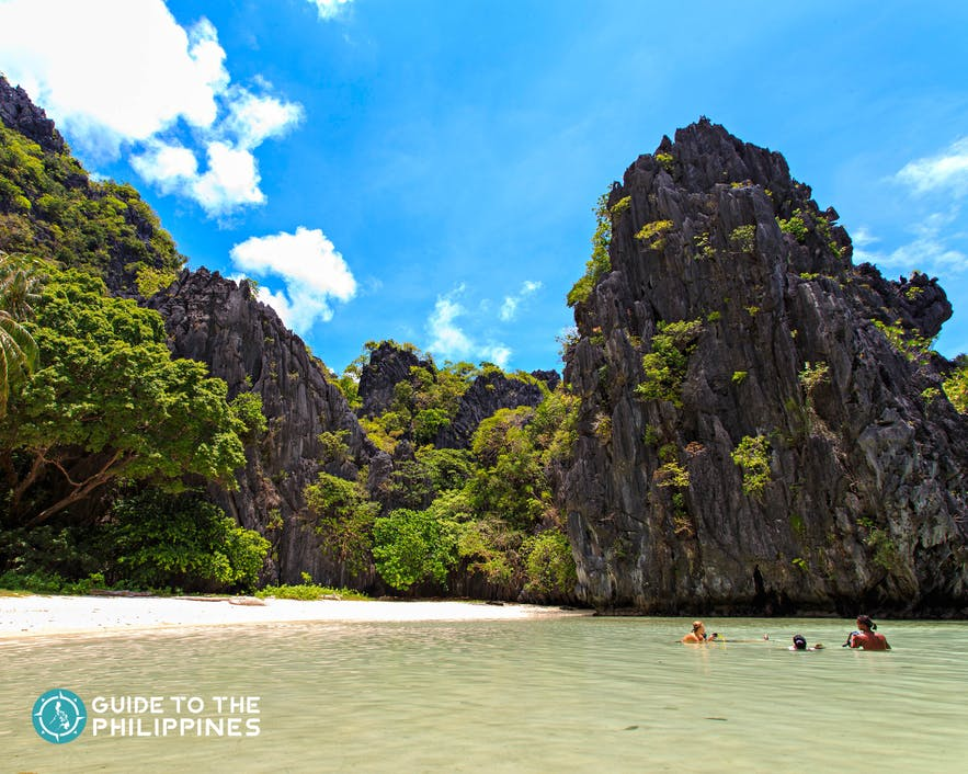 Hidden Beach in El Nido, Palawan