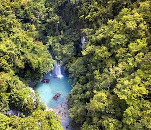 Cebu Kawasan Falls, Moalboal Islands & Osmeña Peak Tour with Lunch & Transfer