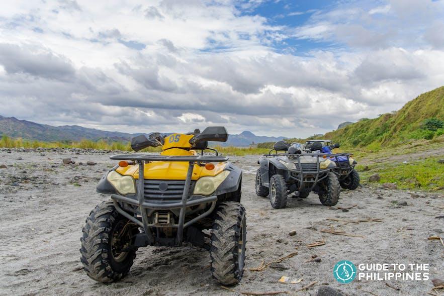 ATV Ride in Mt. Pinatubo in Pampanga
