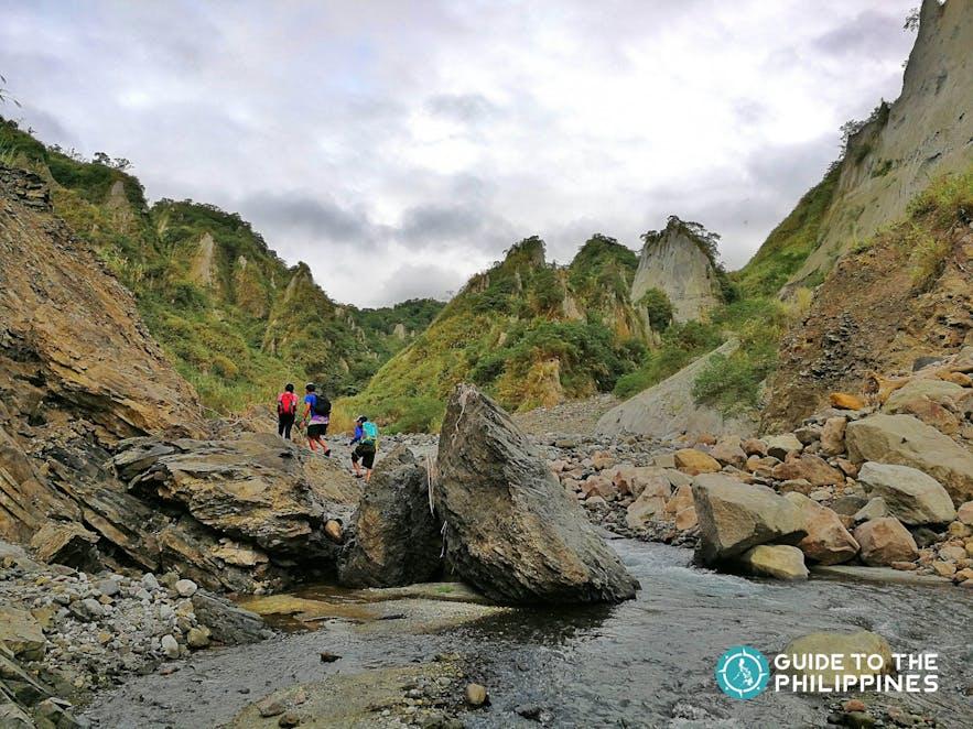Hiking in Mt. Pinatubo, Pampanga