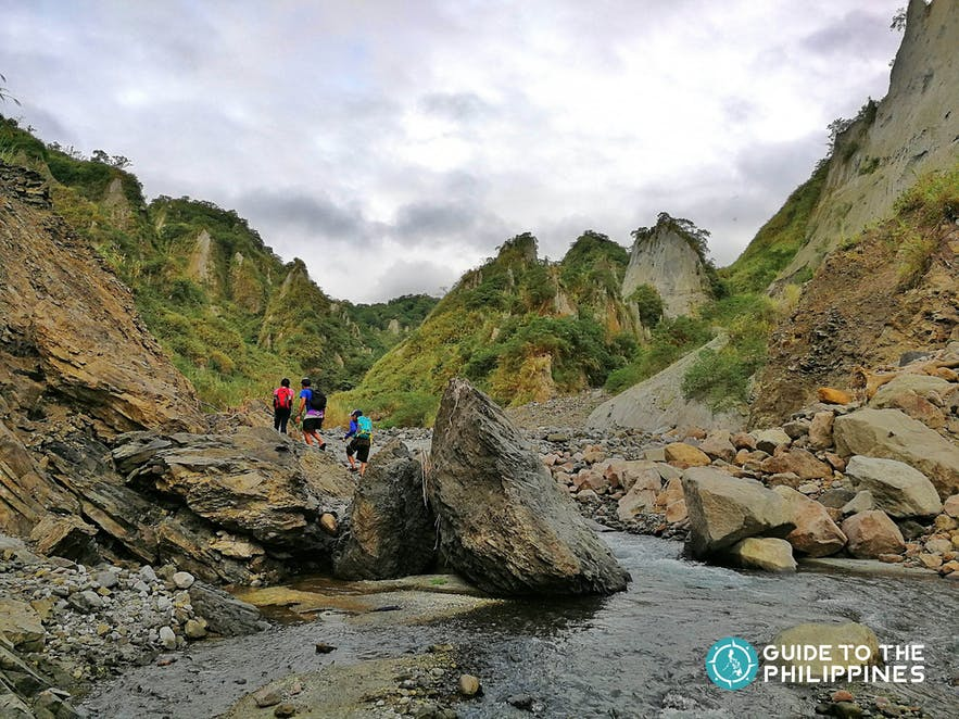 Hiking Mt. Pinatubo in Zambales