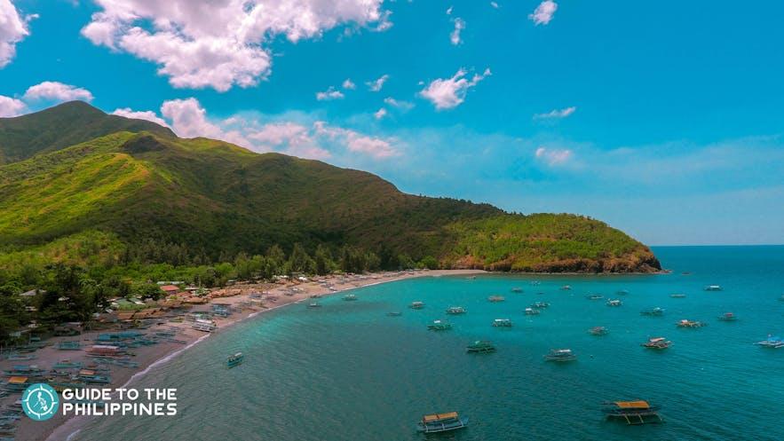 Cove in Zambales