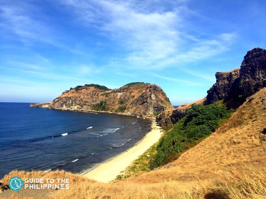View of Capones Island in Zambales