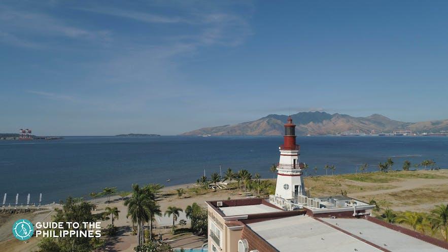 View of the Lighthouse Marina Resort, Zambales