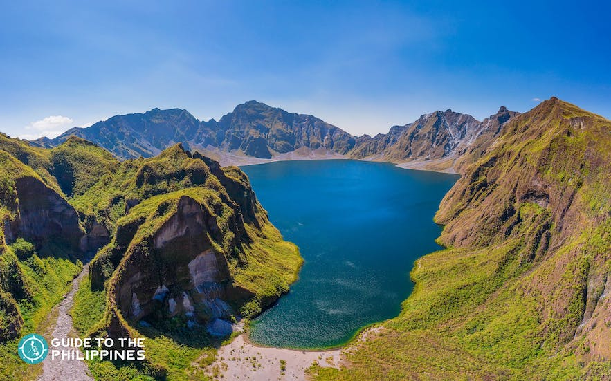View of Mt. Pinatubo in Zambales
