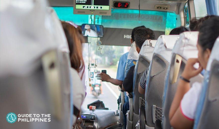 Bus going to Zambales