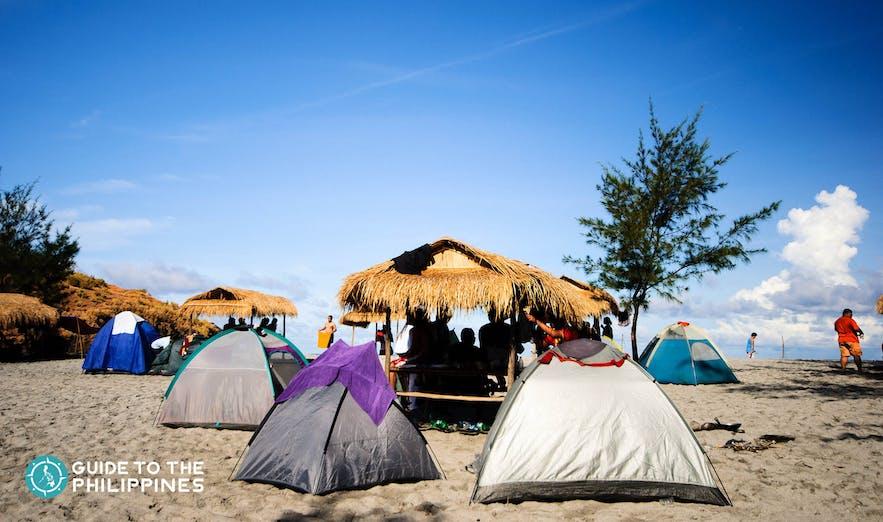 Camping in Zambales