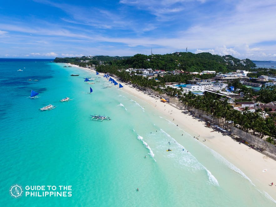 Boracay during the peak season