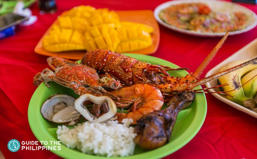 Food in Coron, Palawan