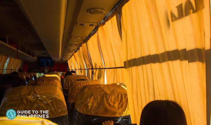 Traveling to Sagada by Bus