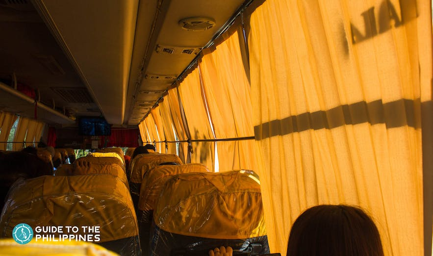 Traveling to Sagada by Bus