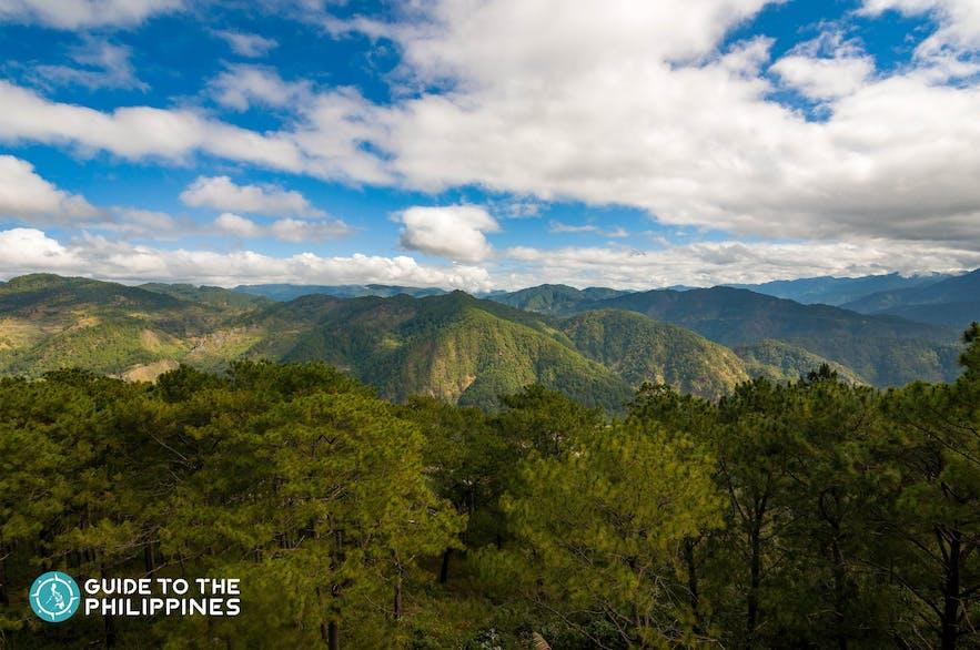Overlooking view of Sagada from Kiltepan Peak