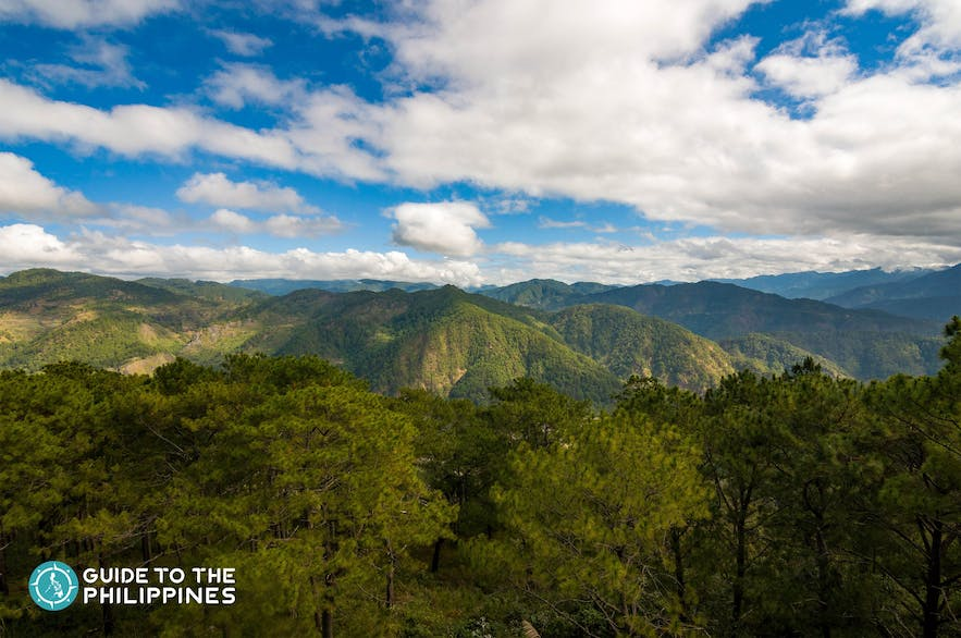 Overlooking view of Sagada from Kiltepan Peak