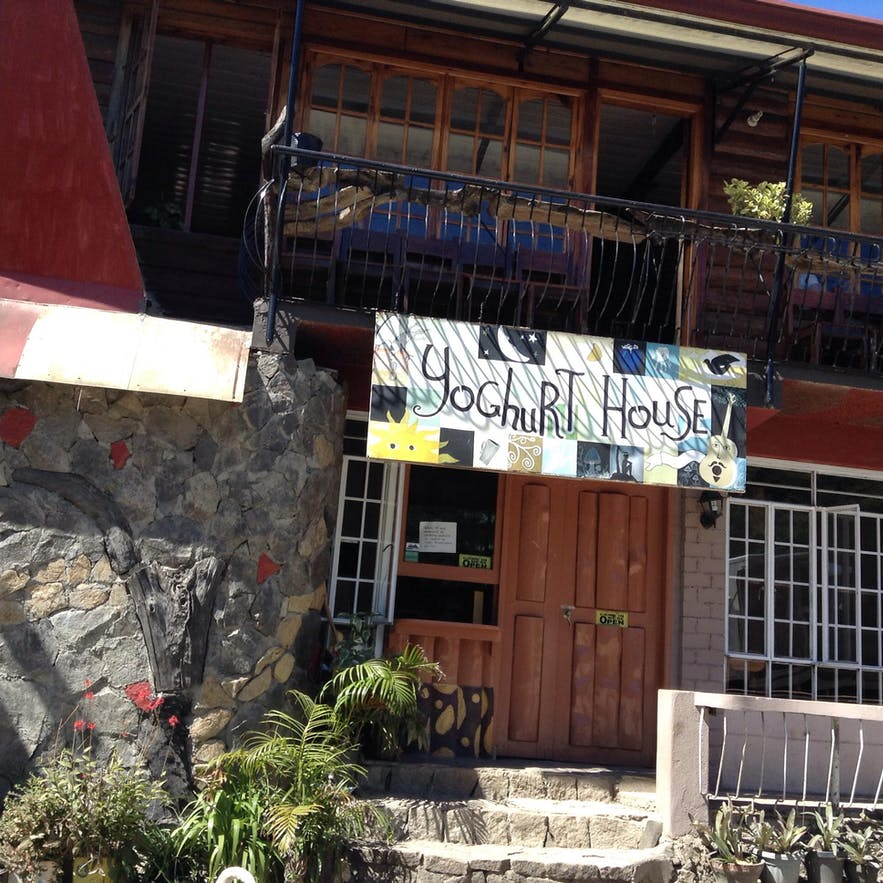 Yoghurt House, which was votes as the best food house in Sagada