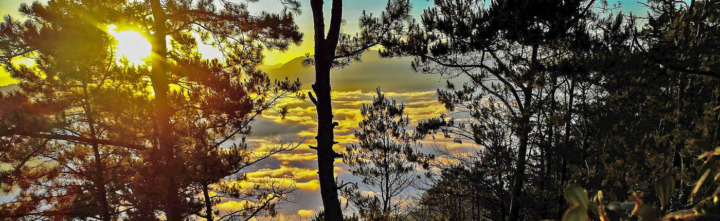 Sunrise in Kiltepan Peak, Sagada