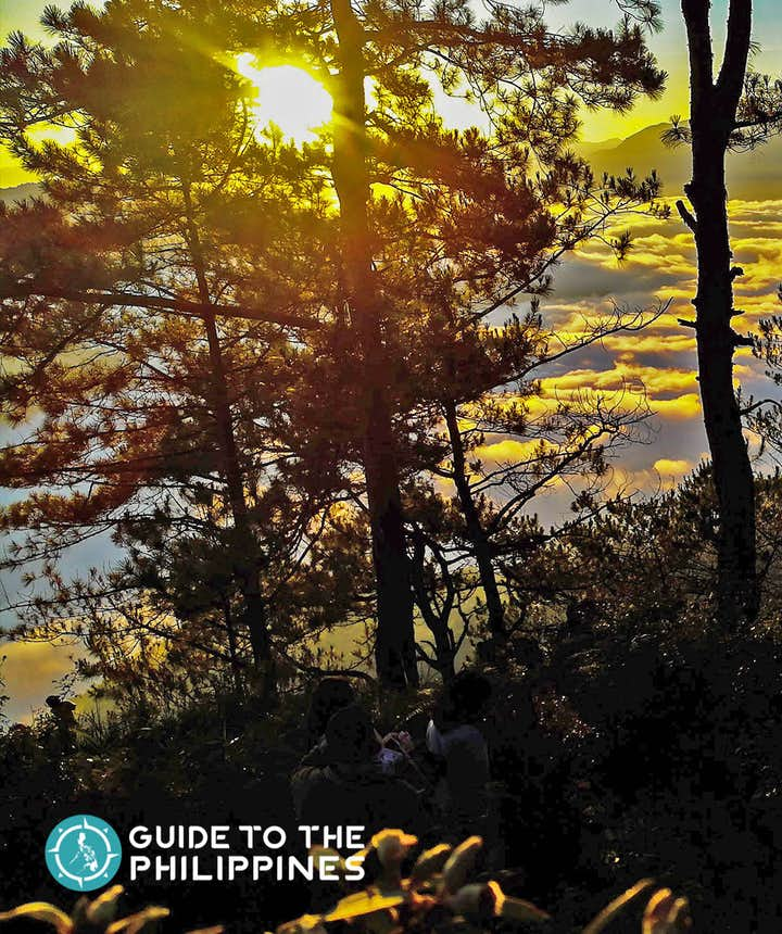 Sunrise in Kiltepan Peak, Sagada