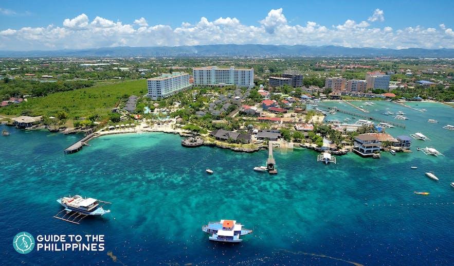 Mactan Island in Cebu, Philippines