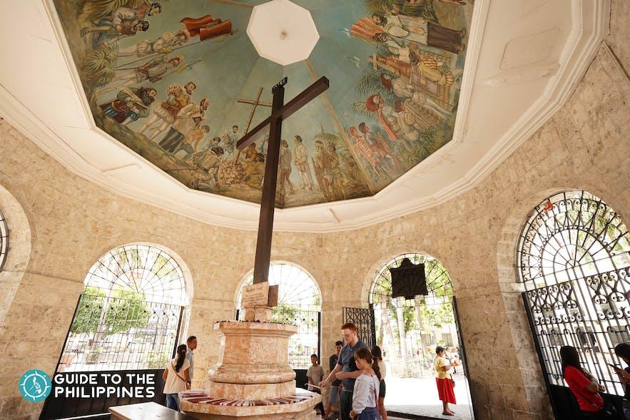Magellan's Cross, one of the historic sites in Cebu