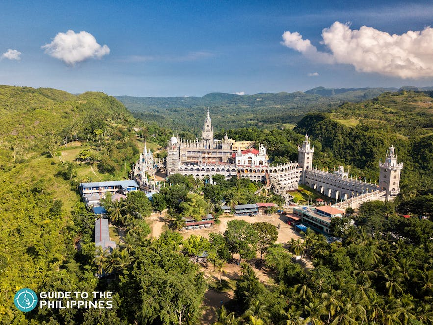 Simala Shrine, one of the most visited churches in the region