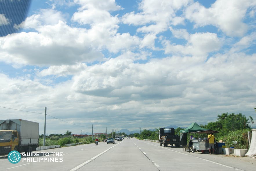You can travel to Pampanga from Manila via a car or van