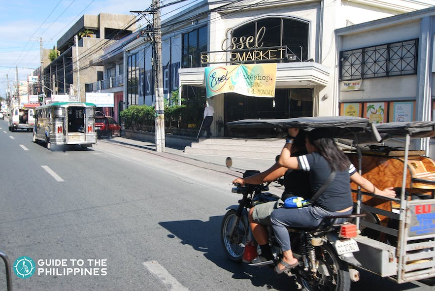 Jeepneys and tricycles are common transport vehicles to get around Pampanga