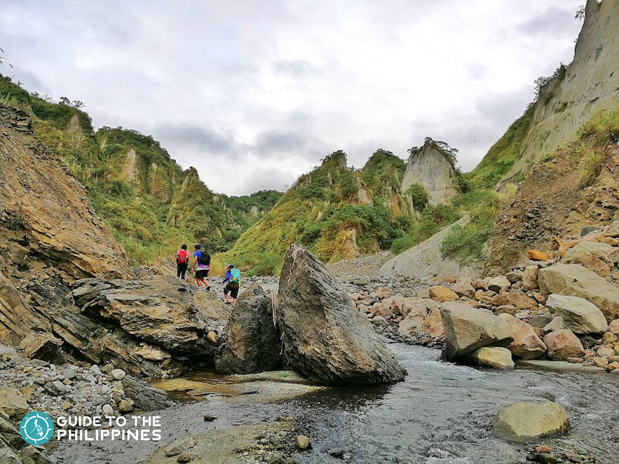 Hike to Mt. Pinatubo via Delta 5 in Porac, Pampanga