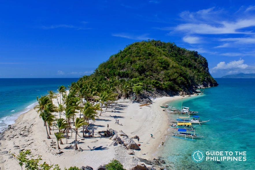 Islas de Gigantes, one of the top tourist spots in Iloilo