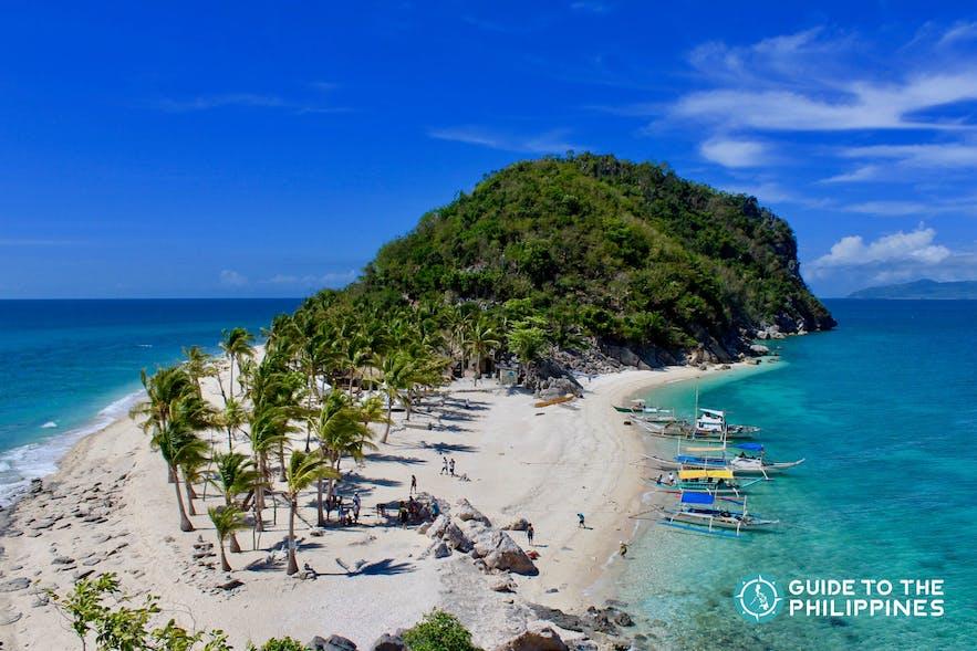 Islas de Gigantes, one of the top tourist spots in Iloilo