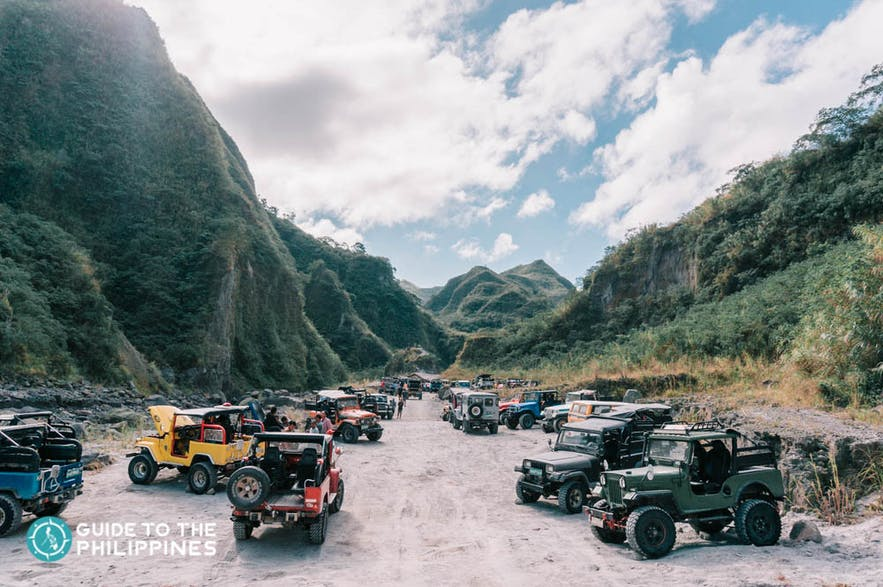 Hop on a 4x4 ATV ride to Mt. Pinatubo