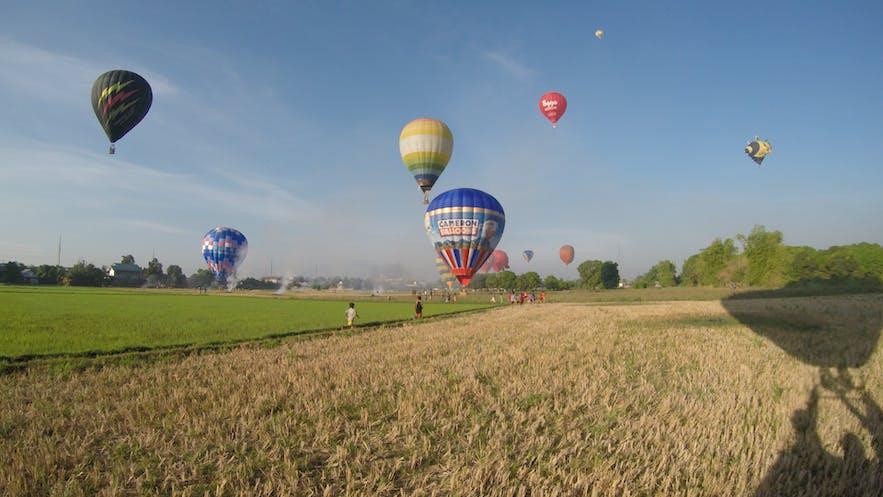 Hot Air Balloon in Clark, Pampanga
