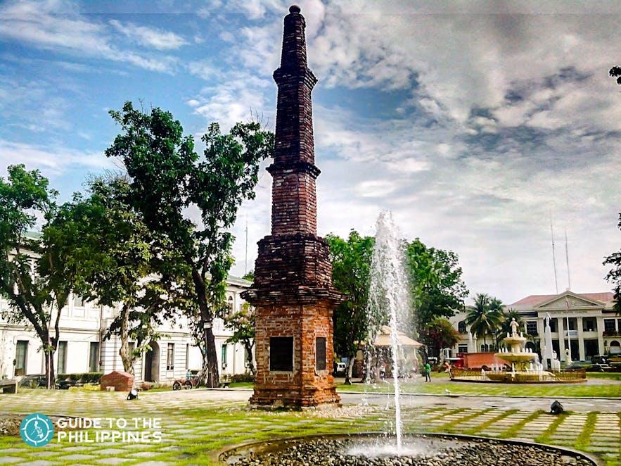 Plaza in Laoag