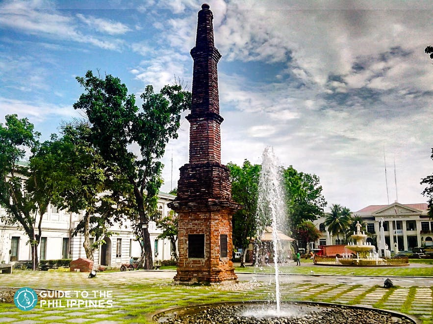Plaza in Laoag