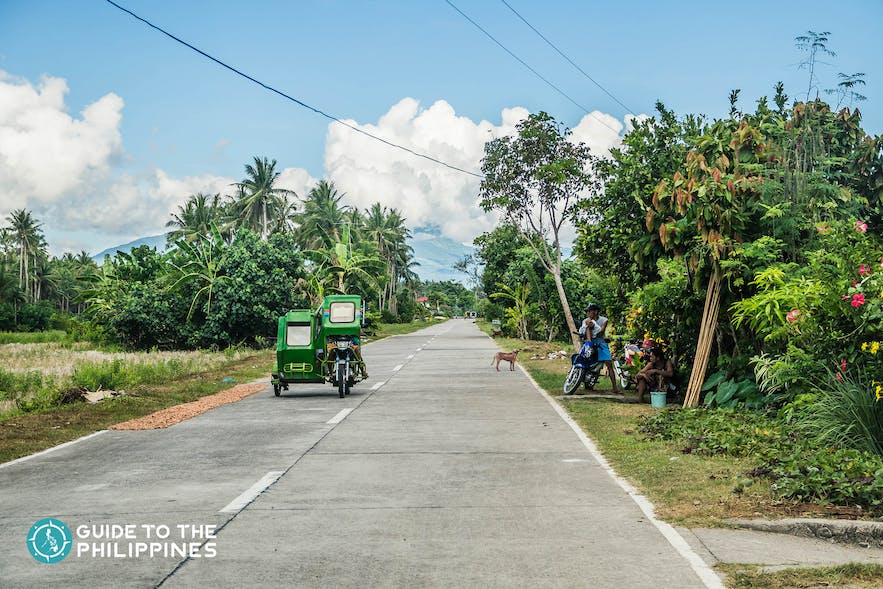 Tricycle is one of the modes of transportation in any province in the Phiilippines