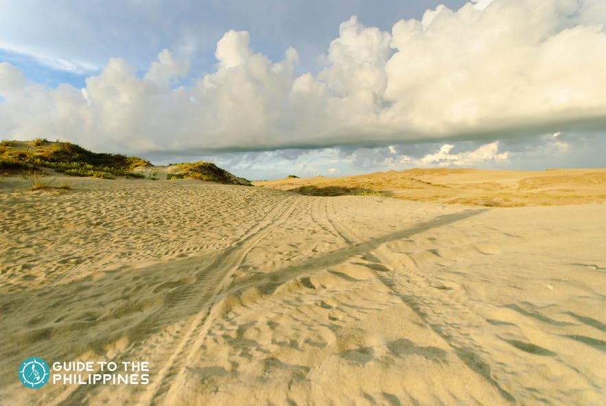 San dunes in Laoag