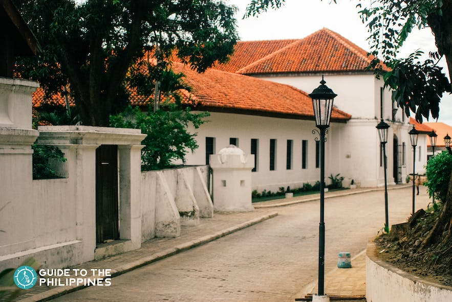 View of a section of Padre Burgos' House