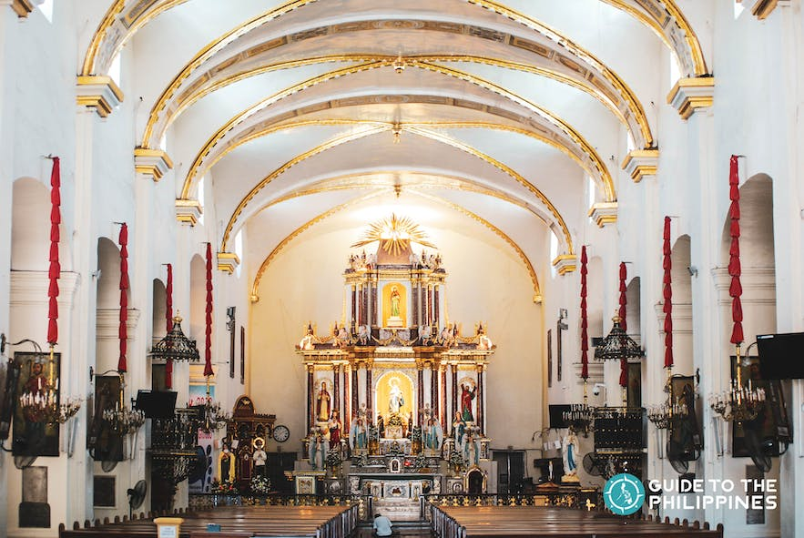 Vigan Cathedral, also known as Saint Paul Metropolitan Cathedral, is located in front of Plaza Salcedo in Vigan