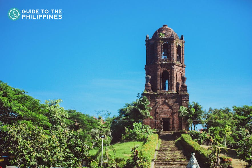 View of the Bantay Church Bell Tower's belfry in Vigan