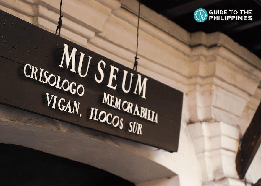 Crisologo Museum located at A. Reyes Street in Vigan, Ilocos Sur