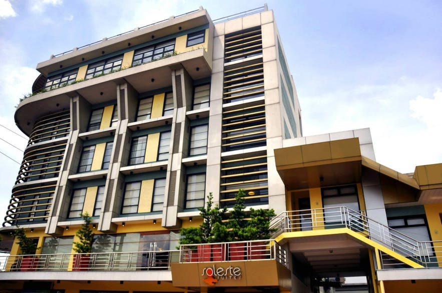 Facade of Soleste Suite in Quezon City