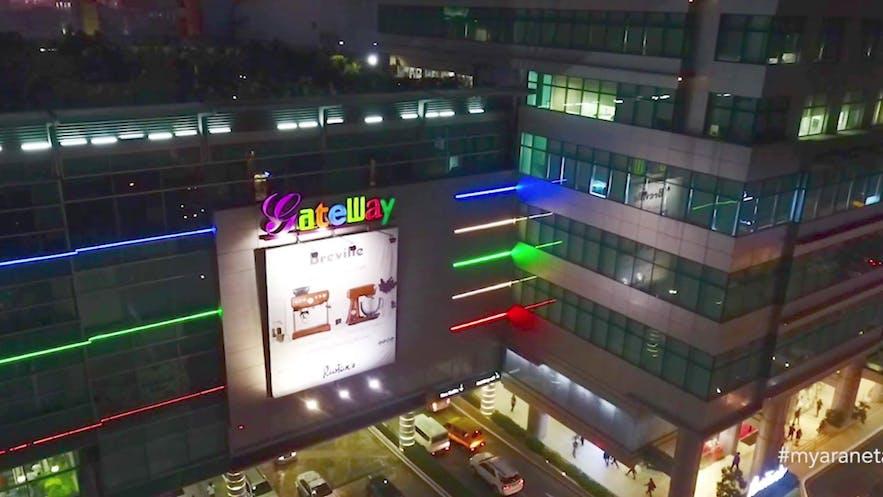 Gateway Mall in Cubao, Quezon City