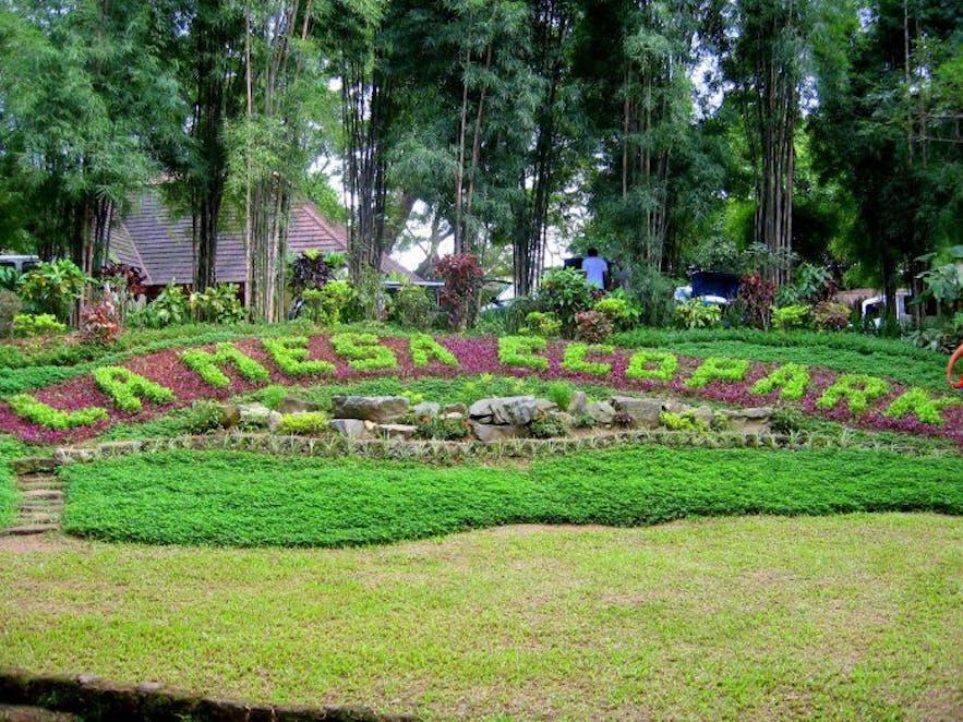 La Mesa Eco Park entrance