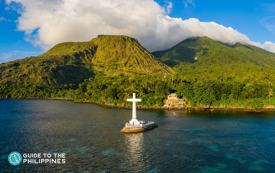 Sunken cemetery, one of the most popular tourist attractions in Camiguin