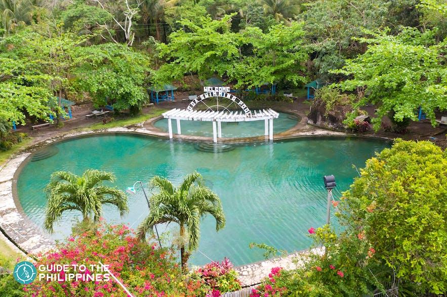 Bura Soda Water Park pool of fresh, clear water that tastes like soda
