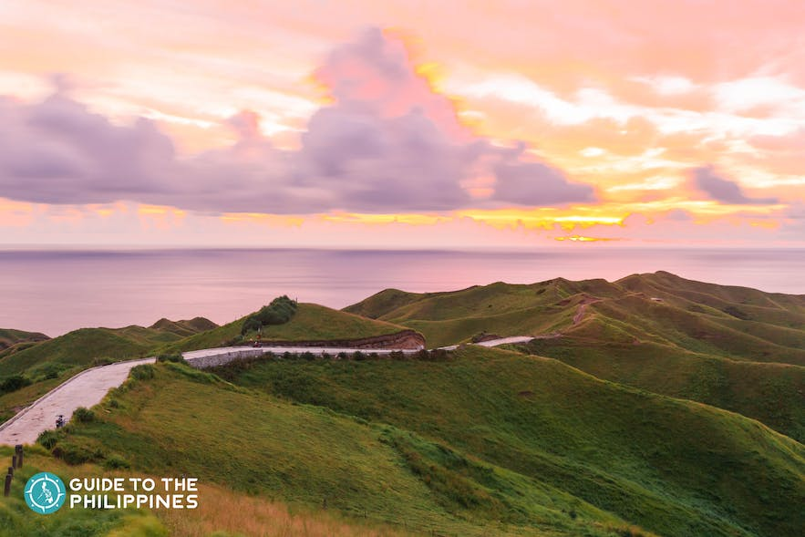 Vayang Rolling Hills of Basco in Batanes, Philippines
