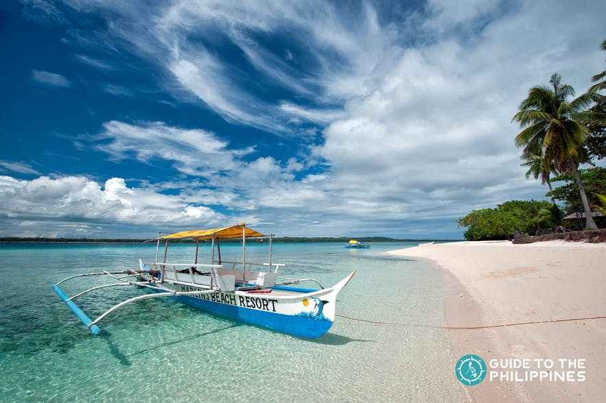 Boat in Bantayan Island