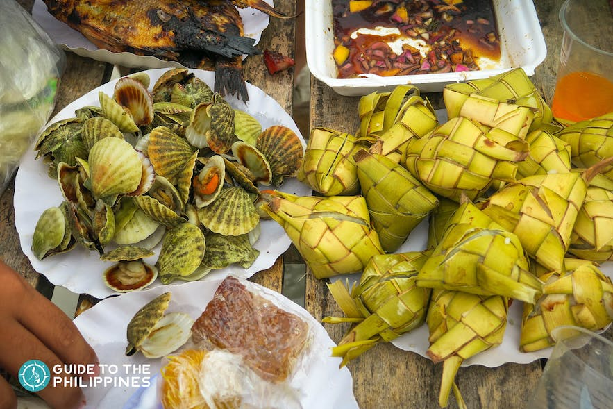 Food at Bantayan Island, Cebu